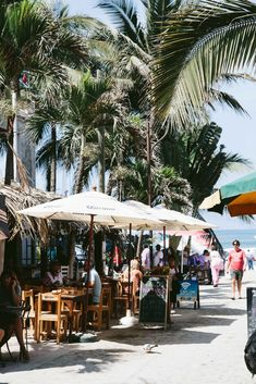 Sayulita, Mexico - A small and charming surf town full of colorful, cobblestone streets.