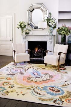 Garden Party by Catherine Martin for Designer Rugs