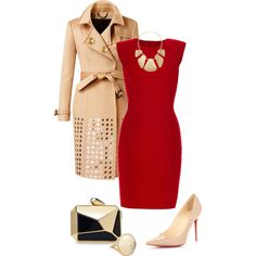 """""""Red Hot"""" by quianashinae on Polyvore"""