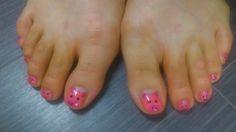 pigs on toes Toenails, Pigs, Nail Art, Toe Nails, Nail Arts, Feet Nails, Art Nails, Piglets, Pedicures