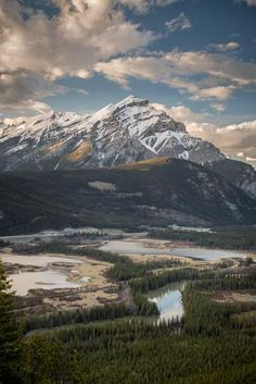Cascade Sunset (Banff, Alberta) by Dan Evans on 500px