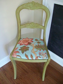 Sixty-Fifth Avenue: Making Over A Garage Sale Chair