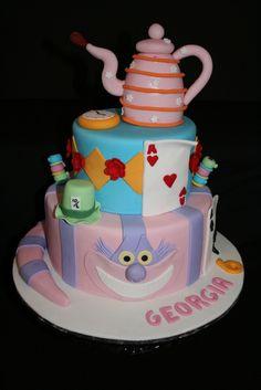 Down the Rabbit Hole Birthday - Alice in Wonderland, Mad Tea Party