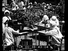 Video-Scuola Montessori a Roma, 1930 (newsreel)