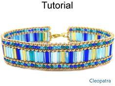 Beaded Cleopatra Bracelet Tutorial #diy #jewelrygram #cbloggers #jewelryinspo #lbloggers