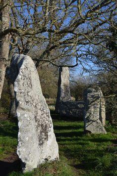 Menhirs à Erdeven, Morbihan