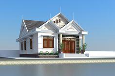 Công ty xây dựng Thanh Niên giới thiệu mẫuThi công xây nhà cấp 4 mái thái 8x14m.Thiết kế mẫu nhà cấp 4 đẹp hiện đại 8x14m với 3 phòng ngủ ...