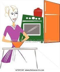 Resultado de imagem para cozinha vintage retro desenho