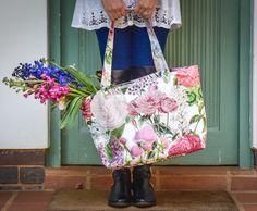 Printed Bags, Pretty In Pink, Ted Baker, Cap, Shoulder Bag, Shower, Tote Bag, Makeup, Fabric