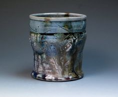 John Glick Plum Tree Pottery Salt Fired Stonware Mug by MugsMostly