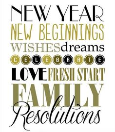 New Year, New Beginnings!