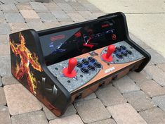 This is your all in one gaming device. No need to only bring some of your retro gaming consoles with you. Bring them all when you have this set up. Just plug into HDMI of TV or monitor. *** CUSTOM BUILT AS ORDERED*** ( 4 week lead time) Moon Patrol Mobile Control Panel / Tabletop