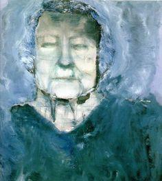 Marlene Dumas - Martha - My Grandmother