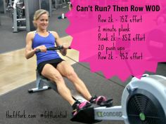 Rowing workout #FitFluential