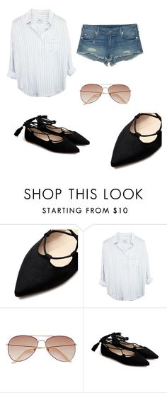 """Untitled #7"" by getxfreex on Polyvore featuring H&M and True Religion"