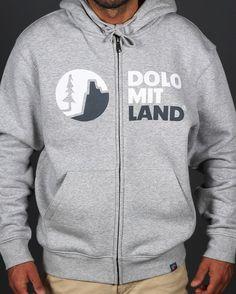 DOLOMITLAND HOODIE HANDMADE DESIGN
