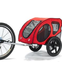 Kasko Bicycle Small Dog Trailer ~ Easily attaches to your bike ~ Soft pillow and blanket means your dog has an extra cushy ride ~ Perfect for zipping around the neighbourhood, to the weekend market, or even to the dog park Bike Pet Carrier, Dog Bike Trailer, Bike Trailers, Best Small Dogs, Small Dog Clothes, Touring Bike, Pet Carriers, Dog Park, Dog Harness