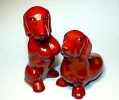 Marston Dachshund Ceramic Collection Salt and Pepper by ShopFIX