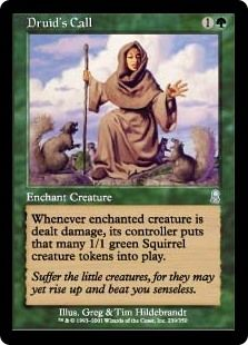 Green Urza/'s Legacy Mtg Magic Rare 1x x1 1 PLAYED Deranged Hermit