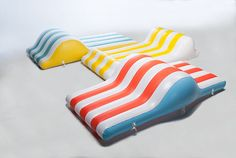 CHAT inflatables - A great new take on air based beach furnature created by Pablo Crespo Pita Inflatable Furniture, Michelin Star, Air Mattress, Outdoor Living, Architecture Design, Cool Stuff, Sweet Stuff, Toy Art, Creative Things