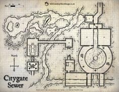 Citygate Sewer (Color Version with labels)