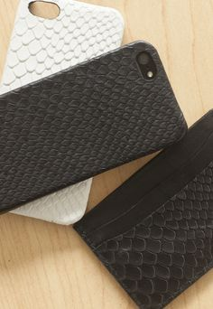 Embossed Boa Leather iPhone Cases #ValenzHandmade