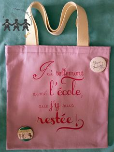 The post appeared first on Cadeau ideeën. I Love School, Diy Cadeau, Silhouette Portrait, Creative Gifts, Little Gifts, Diy Gifts, Homemade Gifts, Teacher Gifts, Reusable Tote Bags