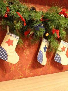 Новогодний носок для подарков своими руками: инструкция по изготовлению