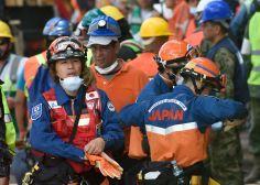 """#FakeNews Los rescatistas japoneses no están decepcionados por """"mal trato"""" y no se han ido"""