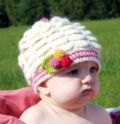 Crochet Pattern Vintage Inspired Scalloped Hat with by Mamachee