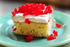 Tres Leches Cake    Ingredients        1 cup All-purpose Flour      1-1/2 teaspoon Baking Powder      1/4 teaspoon Salt      5 whole Eggs      1 cup Sugar, Divided      1 teaspoon Vanilla      1/3 cup Milk      1 can Evaporated Milk      1 can Sweetened, Condensed Milk      1/4 cup Heavy Cream      _____      FOR THE ICING:      1 pint Heavy Cream, For Whipping      3 Tablespoons Sugar