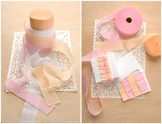 Tutorial: ruffled crepe paper streamers - other cool paper projects on site