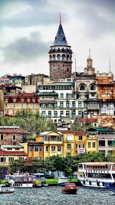 Istanbul Turkey - Architecture and Urban Living - Modern and Historical Buildings - City Planning - Travel Photography Destinations - Amazing Beautiful Places Wonderful Places, Great Places, Places To See, The Places Youll Go, Beautiful Places, Places Around The World, Travel Around The World, Around The Worlds, Reisen In Europa