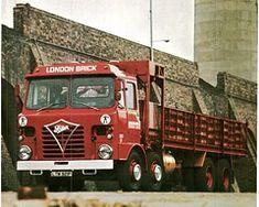Foden S80  Gardner london brick (seacoaler) Tags: old lorry british wheeler eight adverts selfstak