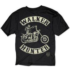 Camiseta Walker Hunter (Daryl Dixon). The Walking Dead Estupenda camiseta con la imagen de Daryl en moto basada en la serie de tv The Walking Dead.