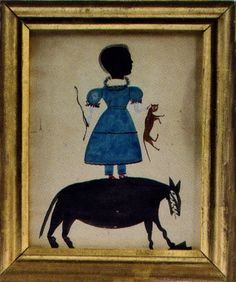 Bill Traylor, meet the Puffy Sleeve Artist (Collection of Ray Egan)