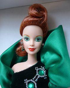 emerald embers barbie bob mackie  by kostis1667, via Flickr