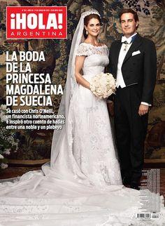 Revista HOLA tapa la boda de la Princesa Magdalena de Suecia - 11 de ...