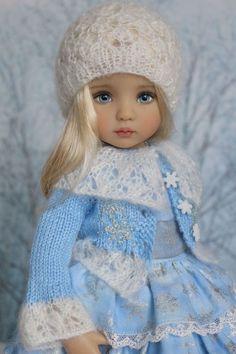 "Embroidered Ensemble for Effner 13"" Little Darling Dolls-Petite Princess Designs #PetitePrincessDesigns"