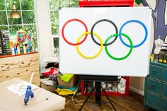 This DIY Olympic Score Puzzle is great for your parties! For more Olympic DIYs, watch Home & Family weekdays at 10a/9c on Hallmark Channel!