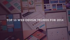 Top 10 latest #web #design trends to follow