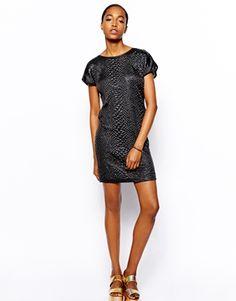 Image 4 ofVila Short Sleeve Shift Dress