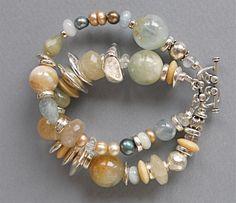 Lovely Aquamarine Bracelet