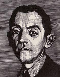 P. Gandon, wood engraving in ed. of Ramon Perez de Ayala                                                                                                                                                      More