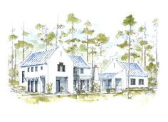 Churchill Oaks lot 26 home, parapet walls, outdoor kitchen and fireplace, livable open floor plan, smooth white stucco
