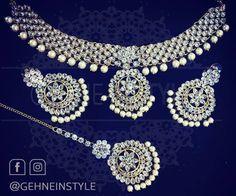 No automatic alt text available. Exclusive Collection, Necklace Designs, Necklace Set