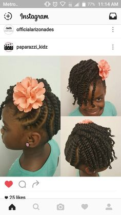 43 Cool Blonde Box Braids Hairstyles to Try - Hairstyles Trends Little Girls Natural Hairstyles, Cute Little Girl Hairstyles, Black Kids Hairstyles, Baby Girl Hairstyles, Kids Braided Hairstyles, Box Braids Hairstyles, Cute Hairstyles, Toddler Hairstyles, Princess Hairstyles