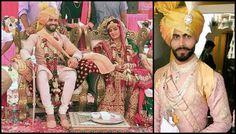 The Complete Wedding Album Of Star Indian Cricketer Sir Ravindra Jadeja And Rivaba Solanki Wedding Sherwani, Wedding Sari, Bollywood Wedding, Wedding Album, Wedding News, Wedding Trends, Cricket Quotes, Ravindra Jadeja, India Cricket Team