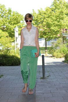 Mein Beitrag zum Bloggerprojekt der Modeflüsterin: Weg zum casual Sommeroutfit. http://blog.modefluesterin.de