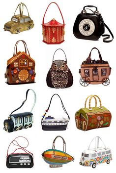 f0502ca852255a These eccentric bags were created by italian designer Carla Braccialini  whose motto is  To create handbags as an absolute beauty concept without  fear of ...